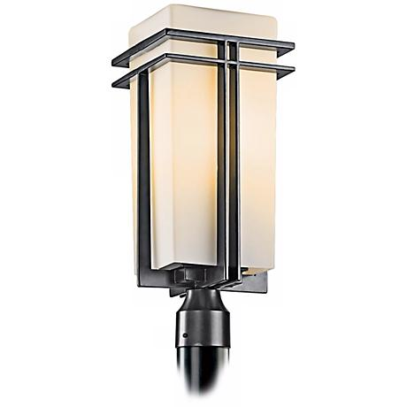 "Tremillo Collection Black 20"" High Outdoor Post Light"