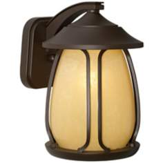 "Pasadena Collection Bronze 11 1/2"" High Outdoor Wall Light"