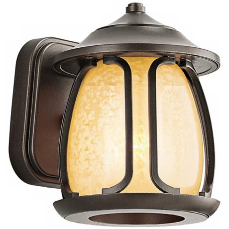 "Pasadena Collection Bronze 8"" High Outdoor Wall Light"