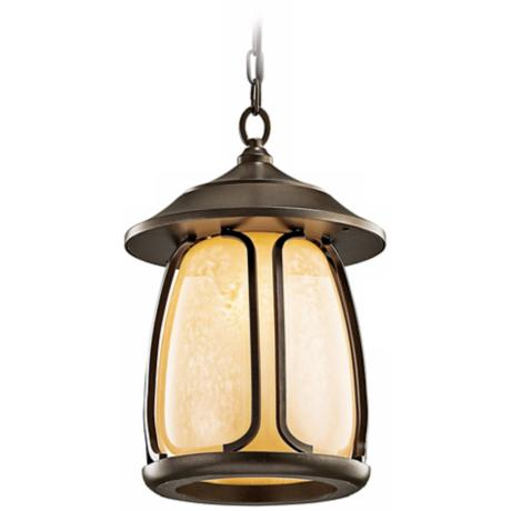 "Pasadena Energy Efficient 16 1/2"" High Outdoor Hanging Light"