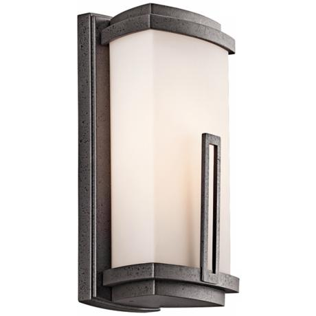"Leeds Collection 12 1/2"" High Outdoor Wall Light"