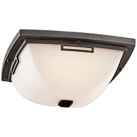 "Leeds Collection 14"" Wide Outdoor Ceiling Light"