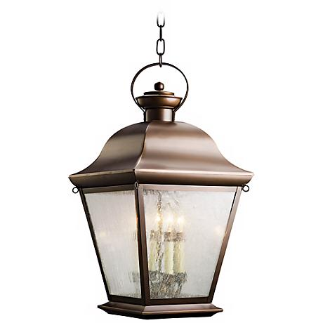 "Kichler Mount Vernon 26"" High Outdoor Hanging Light"