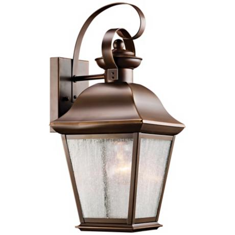 "Kichler Mount Vernon 17"" High Outdoor Wall Light"