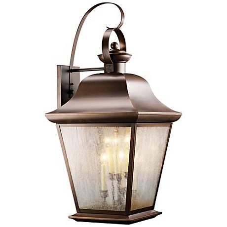 "Kichler Mount Vernon 32 1/2"" High Outdoor Wall Light"