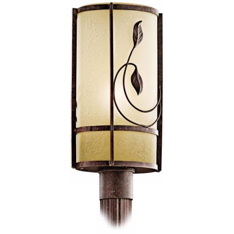 "Lancaster Gardens ENERGY STAR 19 1/2"" High Post Light"