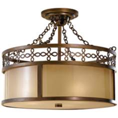 "Murray Feiss Justine 17"" Wide Ceiling Light Fixture"