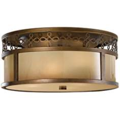 "Murray Feiss Justine 15"" Wide Ceiling Light Fixture"