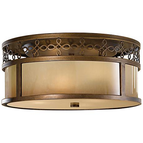 "Feiss Justine 15"" Wide Ceiling Light Fixture"
