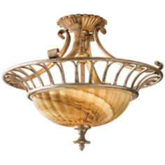 "Murray Feiss Bancroft 18 1/2"" Wide Ceiling Light Fixture"
