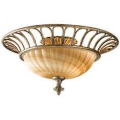 "Murray Feiss Bancroft 18"" Wide Ceiling Light Fixture"