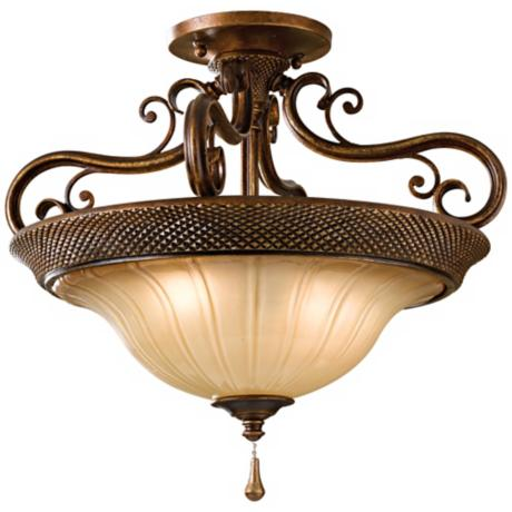 "Murray Feiss Celine Collection 17"" Wide Ceiling Light"