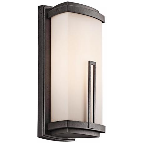 "Leeds ENERGY STAR 16 1/2"" High Outdoor Wall Light"