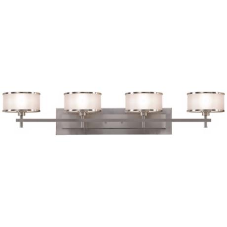 "Murray Feiss Casual Luxury 36"" Wide Bathroom Wall Light"