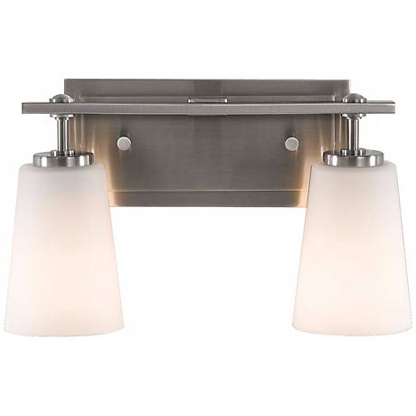 "Feiss Sunset Drive 14"" Wide Bathroom Wall Light"