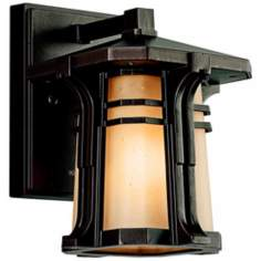 "Kichler North Creek Bronze 8 1/2"" High Outdoor Wall Light"