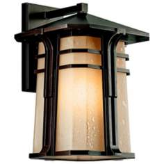 "Kichler North Creek Bronze 18"" High Outdoor Wall Light"