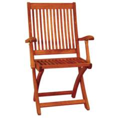 Eucalyptus Outdoor Folding Chair