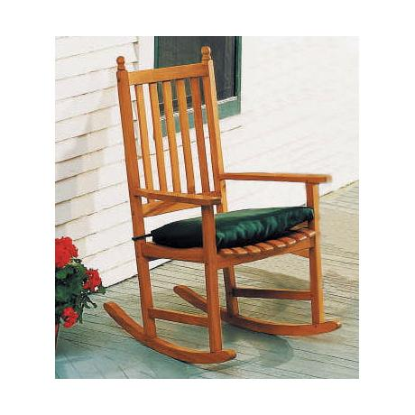 Eucalyptus Natural Outdoor Rocking Chair