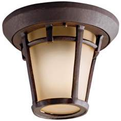 "Kichler Melbern 10"" Wide Indoor - Outdoor Ceiling Light"