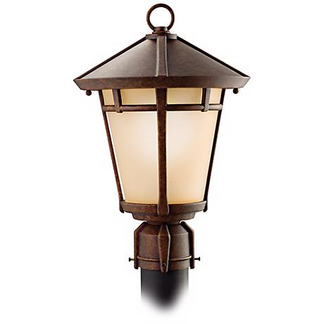 "Kichler Melbern 16 1/2"" High Outdoor Post Light"