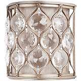 "Feiss Lucia Collection 8"" High Crystal Wall Sconce"
