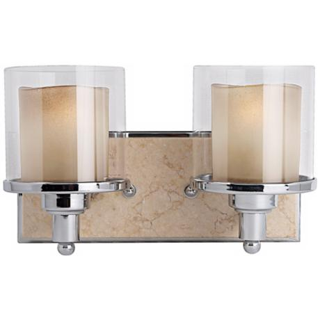 "Murray Feiss Belleaire 13 1/2"" Wide Bathroom Wall Light"