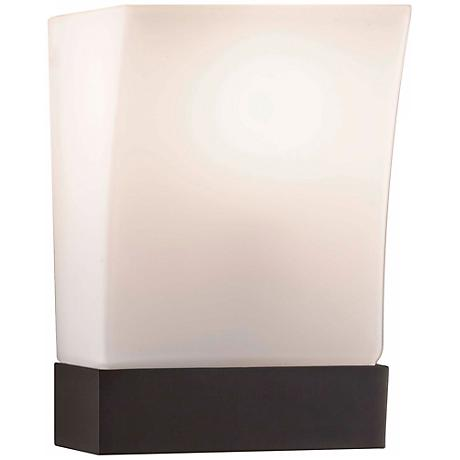 "Feiss Blake Oil-Rubbed Bronze 9"" High Wall Sconce"