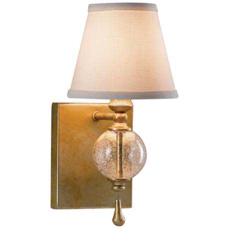 "Murray Feiss Argento Collection 11 3/4"" High Wall Sconce"