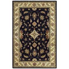 Picks Ambros Black Area Rug