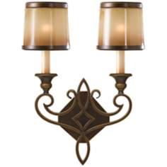 Murray Feiss Justine Collection 2-Light Wall Sconce
