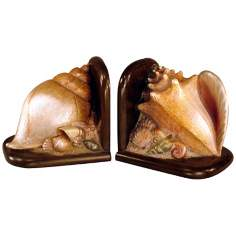 Judith Edwards Designs Shell Bookends