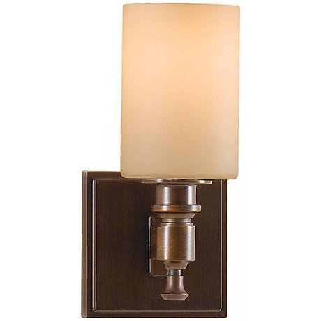 "Feiss Sullivan Bronze 9 1/2"" High Wall Sconce"