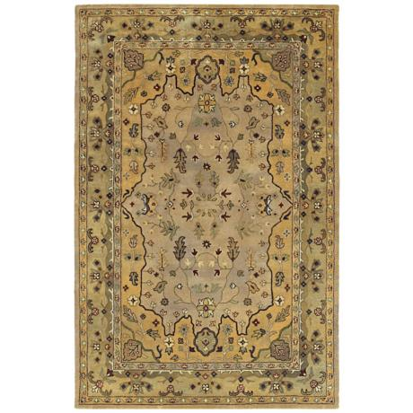 Picks Wormsloe Cream Area Rug