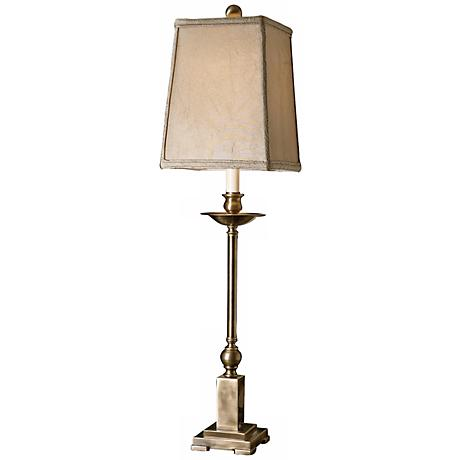 Uttermost Lovett Aged Bronze Buffet Table Lamp