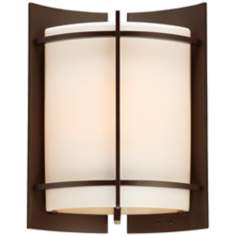 "Nolan Collection Bronze 11"" High Outdoor Wall Light"