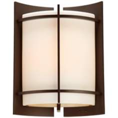 "Nolan Collection Bronze 16"" High Outdoor Wall Light"