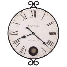 "Howard Miller Magdalen 26 1/4"" Wide Wall Clock"