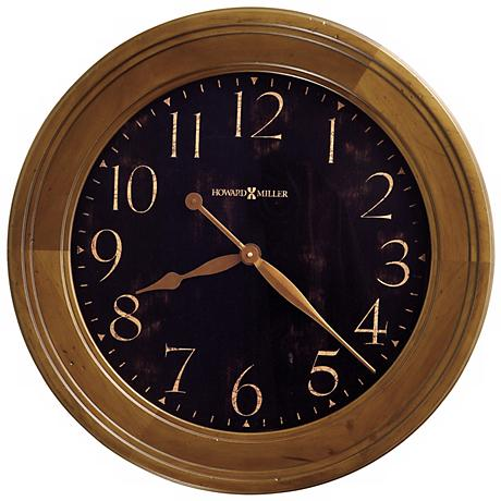 "Howard Miller Brenden Gallery 25""  Wide Wall Clock"