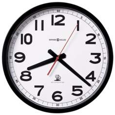 "Howard Miller Accuwave 12 1/4"" Wide Wall Clock"