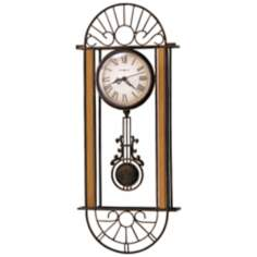 "Howard Miller Devahn 23 1/2"" High Wall Clock"