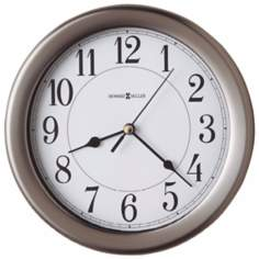 "Howard Miller Aries 8 1/2"" Wide Wall Clock"