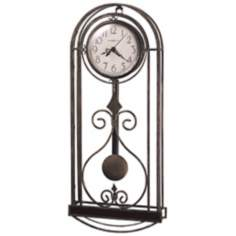 "Howard Miller Melinda 22"" High Wall Clock"