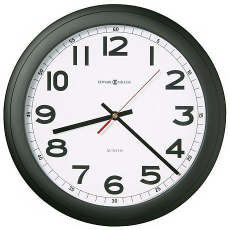 "Howard Miller Norcross 12 1/4"" Wide Wall Clock"