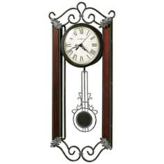 "Howard Miller Carmen 21"" High Wall Clock"