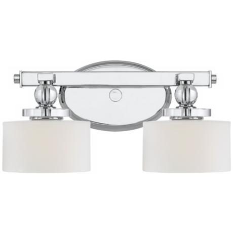"Downtown Collection 15"" Wide Bathroom Wall Light"