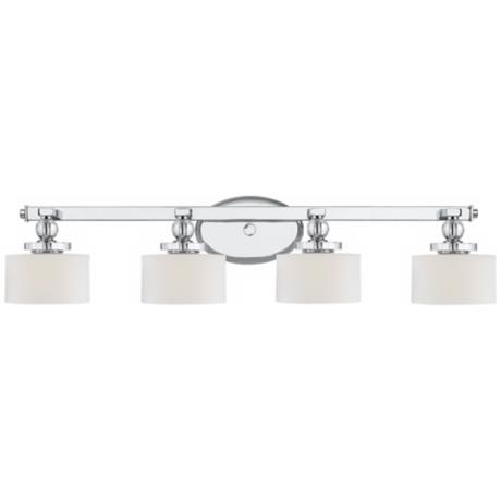 "Downtown Collection 33 1/2"" Wide Bathroom Wall Light"
