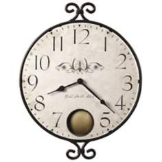 "Howard Miller Randall 14"" Wide Wall Clock"