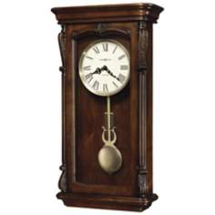 "Howard Miller Henderson 25"" High Wall Clock"