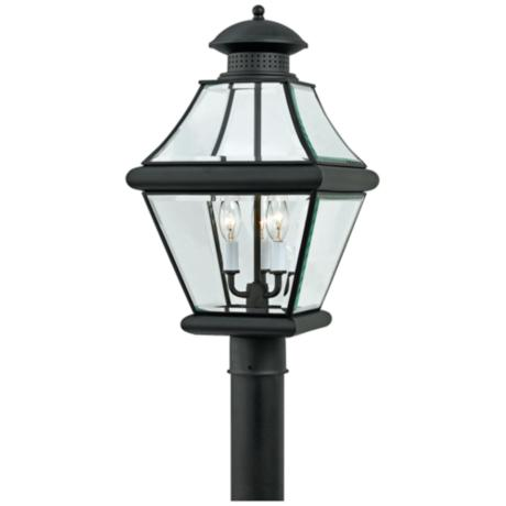 "Rutledge Collection Black 20 1/2"" High Outdoor Post Light"